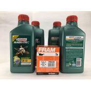 Kit troca Óleo Fox Gol Golf Castrol 5W40 508.88 Filtro Fram PH5548