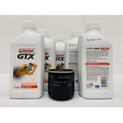 Kit Troca Óleo Zafira 2.0 16v Castrol Gtx 20w50 Filtro Bosch