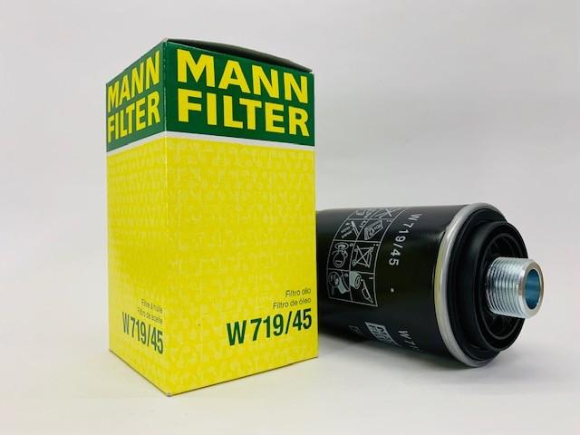 Filtro Óleo Audi A3 2.0 TFSI Mann W719/45