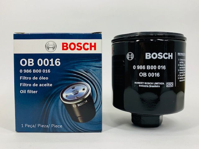 Filtro Óleo Bosch 0.986.B00.016 VW Kombi 1.4 Flex 2006 ed.