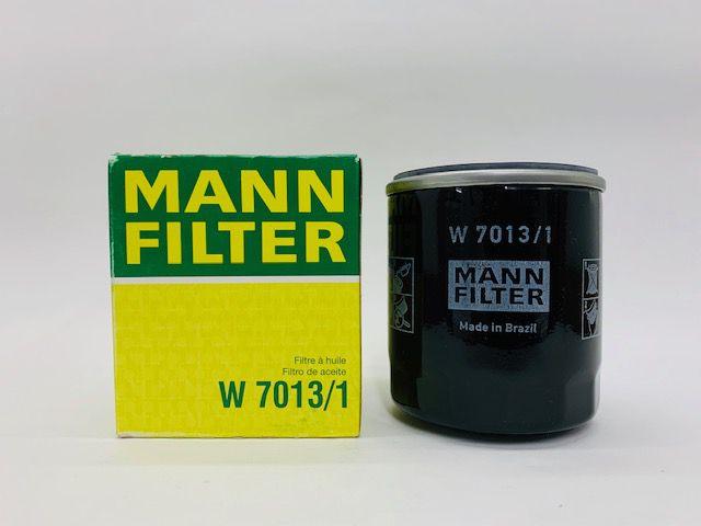 Filtro Óleo Ecosport 1.6 16V Focus 1.6 16V  Mann W7013/1
