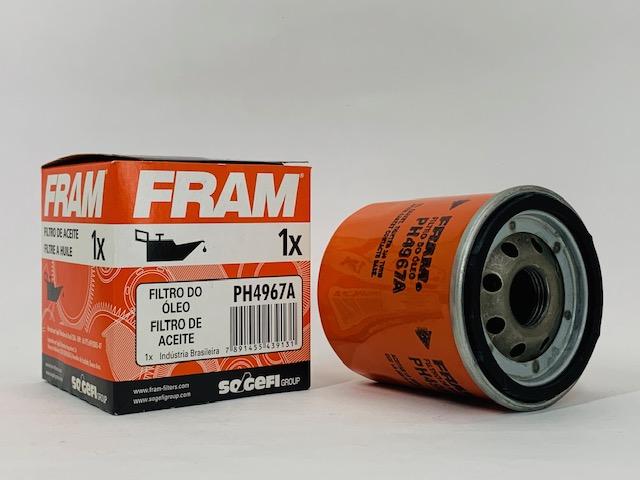 Filtro Óleo Etios 1.3 16v Flex 2016 em diante Fram PH4967A