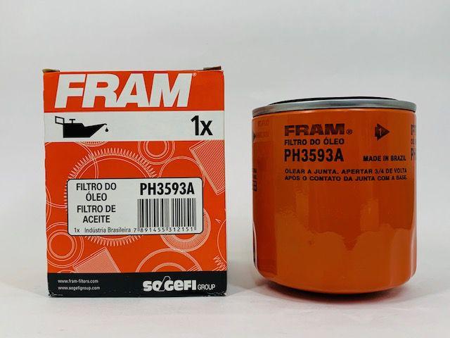 Filtro Óleo Fram PH3593A Honda Accord