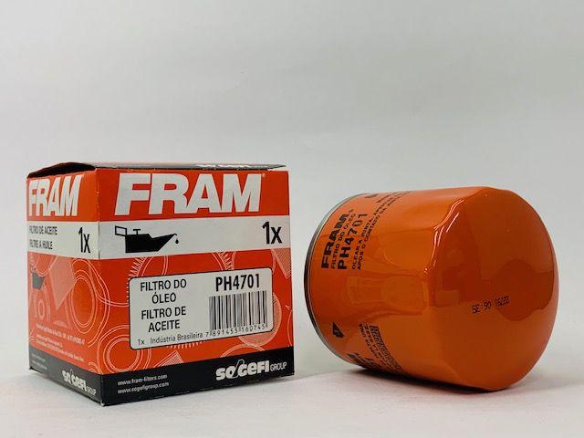 Filtro Óleo Fram PH4701 GM Celta Astra S10 Spin Prisma