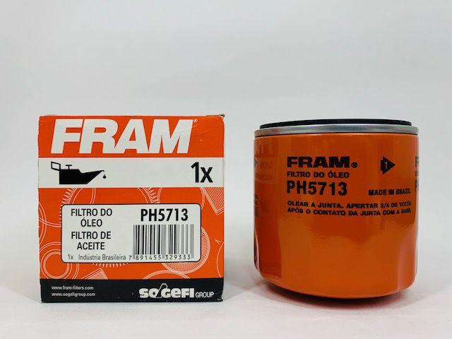 Filtro Óleo Fram PH5713 Ford Ecosport 1.0/ 1.6 Rocam/ Flex