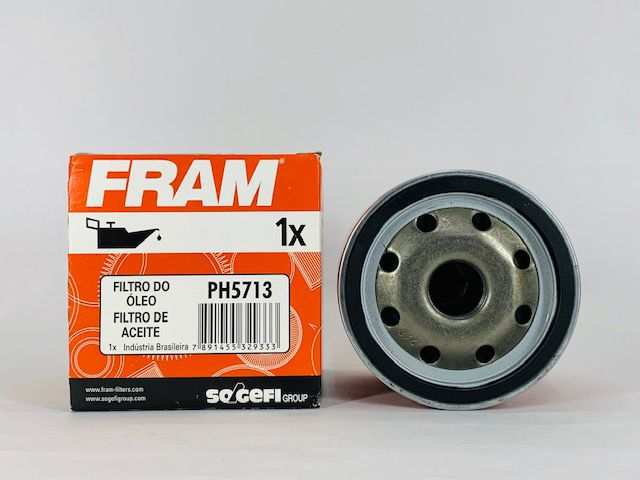Filtro Óleo Fram PH5713 Ford Fiesta 1.0/ 1.3/ 1.6/ Courier