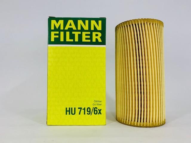 Filtro Óleo Mann HU719/6X Audi Turbo A3 TFSI 2005 a 2009
