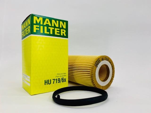 Filtro Óleo Mann HU719/6X Passat 2.0 FSI 2005 a 2008