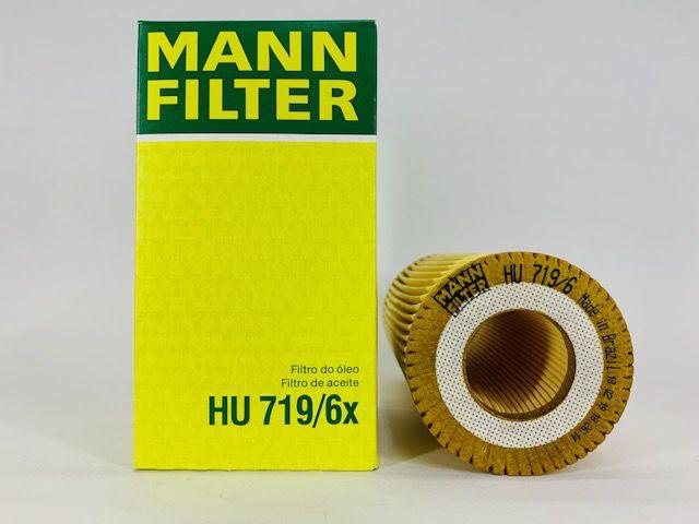 Filtro  Óleo Mann HU719/6X Volkswagen Jetta 2.5 Passat FSI