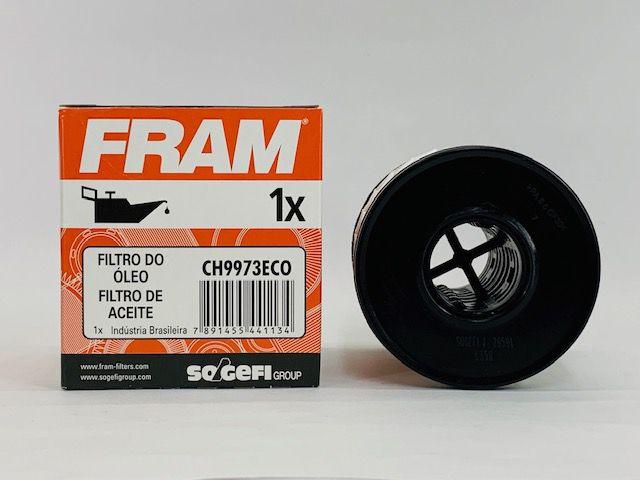 Filtro Óleo Mini 1.6 Citr C3 1.4 Peug 206 207 Fram CH9973ECO