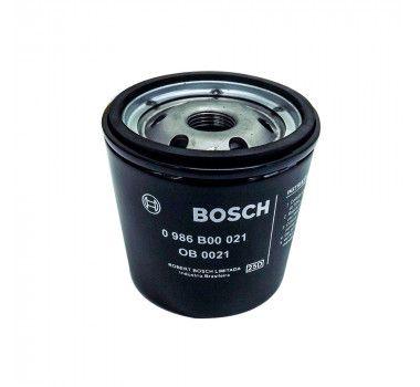 Filtro Óleo Omega 2.2 todos 1995 a 1998 Bosch 0986B00021