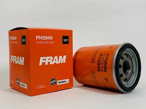 Filtro Óleo Palio 1.3 16V Fire 200 a 2005 PH5949 Fram