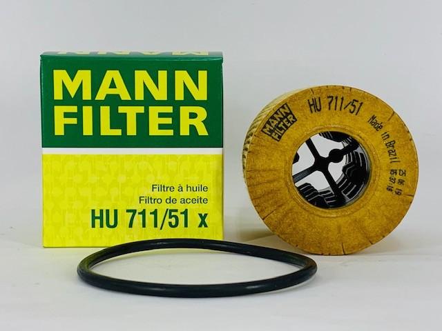 Filtro Óleo Peugeot 307 1.4 16V/ 307 1.6 16V Mann HU711/51X