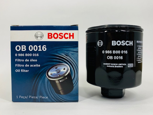 Filtro Óleo Polo 1.0 8V todos 2002 a 2005 Bosch OB0016