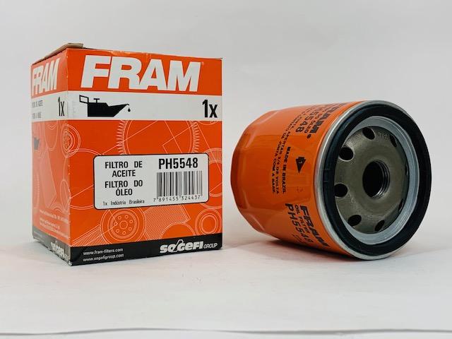 Filtro Óleo Saveiro 1.6 8V todos 2009 em diante Fram PH5548