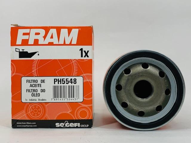 Filtro Óleo Spacefox 1.6 8V Flex 2006 em diante Fram PH5548