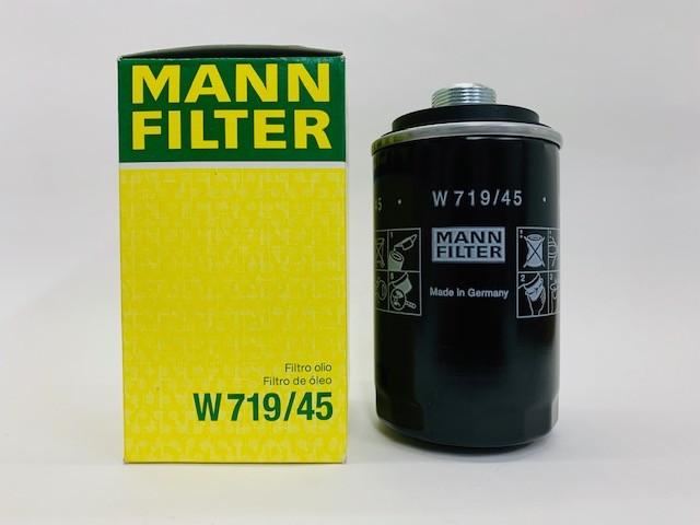 Filtro Óleo VW EOS 2.0 TSI Mann W719/45