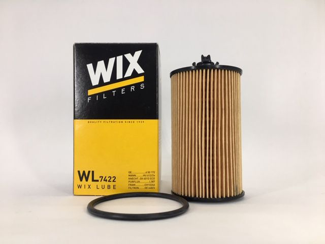 Filtro óleo WIX WL7422 Chevrolet Cruze 1.8 16V Sonic 1.6 16V Tracker 1.8 16V