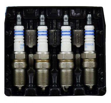 Jogo 4 Velas Ignição SP24 FR8ME+ Bosch Peug 206 307 Hyundai