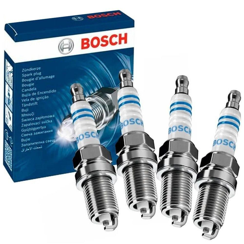 Jogo 4 Velas Ignição SP50 YR6LE+ Bosch Uno Fire Grand Siena