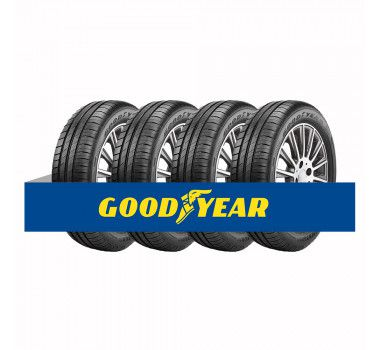 Kit com 4 Pneus Goodyear Aro 16 Efficient Grip Performance 205/55 91V