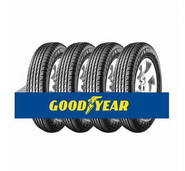 Kit com 4 Pneus Goodyear Aro 16 Efficient Grip Suv 205/65 95H