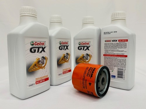 Kit Troca Óleo Corsa 1.6 16v Castrol Gtx 20w50 Filtro Fram