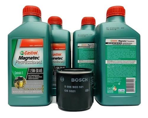 Kit Troca Óleo Prisma 1.0 / 1.4 Magnatec 5w30 Filtro Bosch