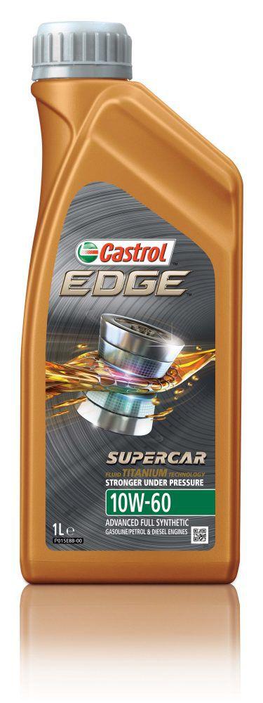 Óleo Castrol Edge 10W60 Supercar Titanium FST BMW M3 M5 M6