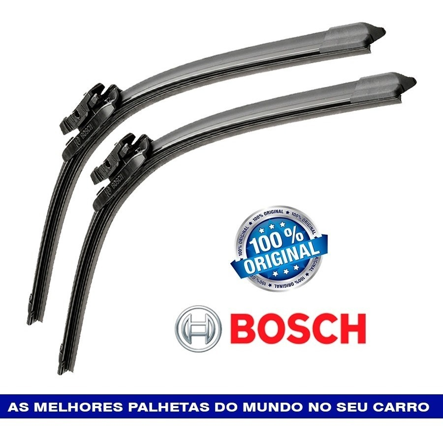 Par Palhetas Limpador BMW 325i Cabriolet 2006-2009 Bosch