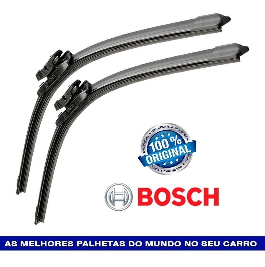 Par Palhetas Limpador C3 Picasso 2011 a 2015 Bosch Aerotwin
