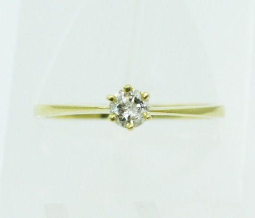 Anel De Ouro 18k750 Diamante 2238