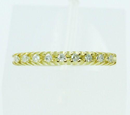Anel De Ouro 18k750 Diamantes 2234