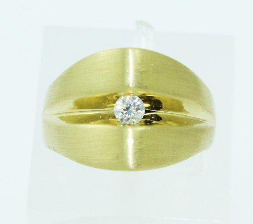 Anel De Ouro 18k750 Diamante 2229