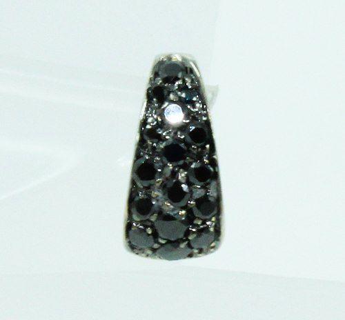 Pingente De Ouro Branco 18k750 Diamantes P622