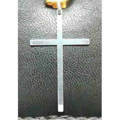 Pingente De Prata 925 Cruz P1