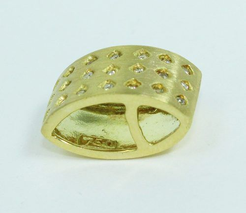 Pingente De Ouro 18k750 Diamantes P620