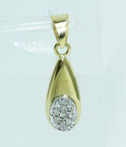 Pingente De Ouro 18k750 Diamantes P608