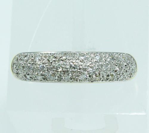 Anel De Ouro 18k750 Diamantes 1977