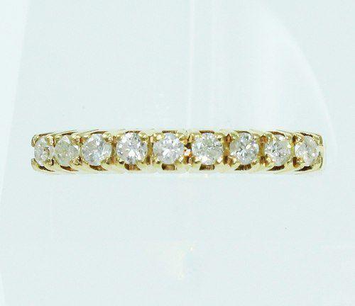 Anel De Ouro 18k750 Diamantes 1974