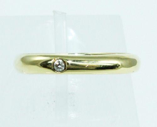 Anel De Ouro 18k750 Diamante 1960