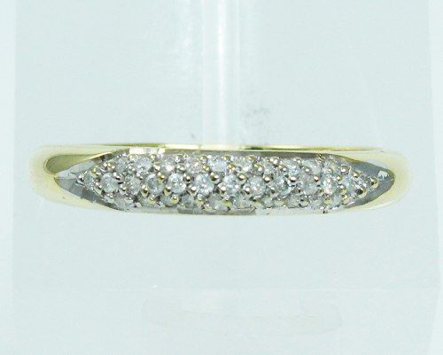 Anel De Ouro 18k750 Diamantes 1940