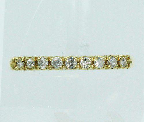 Anel De Ouro 18k750 Diamantes 1934