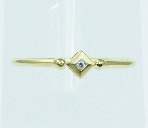 Anel De Ouro 18k750 Diamante 1921