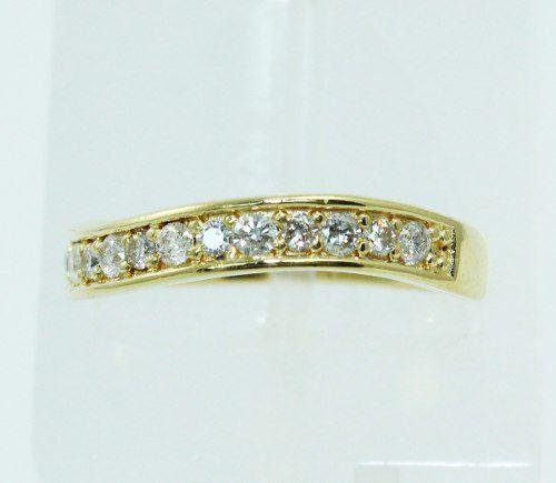 Anel De Ouro 18k750 Diamantes 2252
