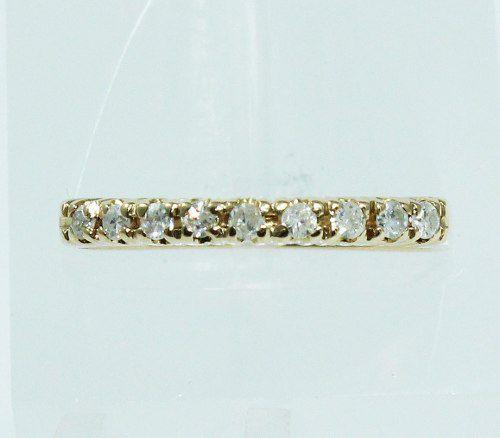 Anel De Ouro 18k750 Diamantes 1886