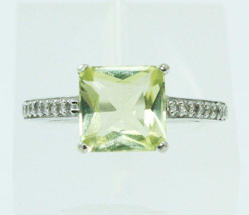 Anel Ouro Branco 18k750 Diamantes Green Gold 1863