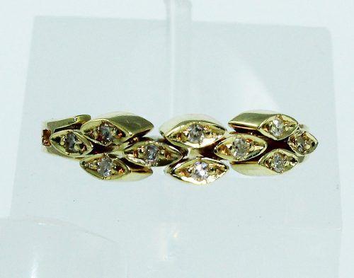 Anel De Ouro Móvel 18k750 Diamantes 1810