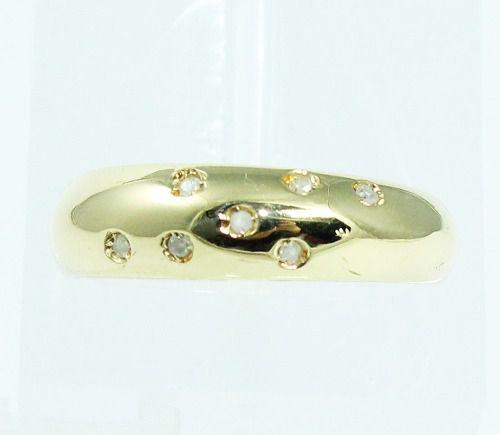 Anel De Ouro 18k750 Diamantes 1780
