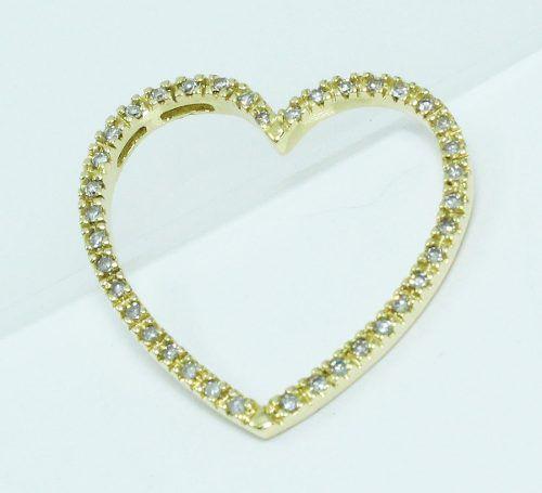 Pingente De Ouro 18k750 Diamantes Vivara P560
